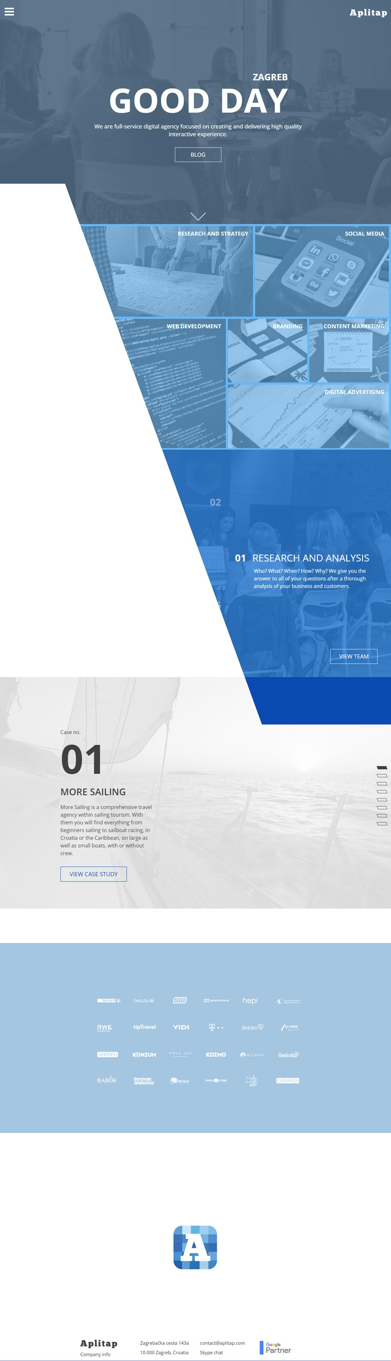 Aplitap Website Screenshot