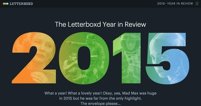 Letterboxd 2015 Year in Review Thumbnail Preview