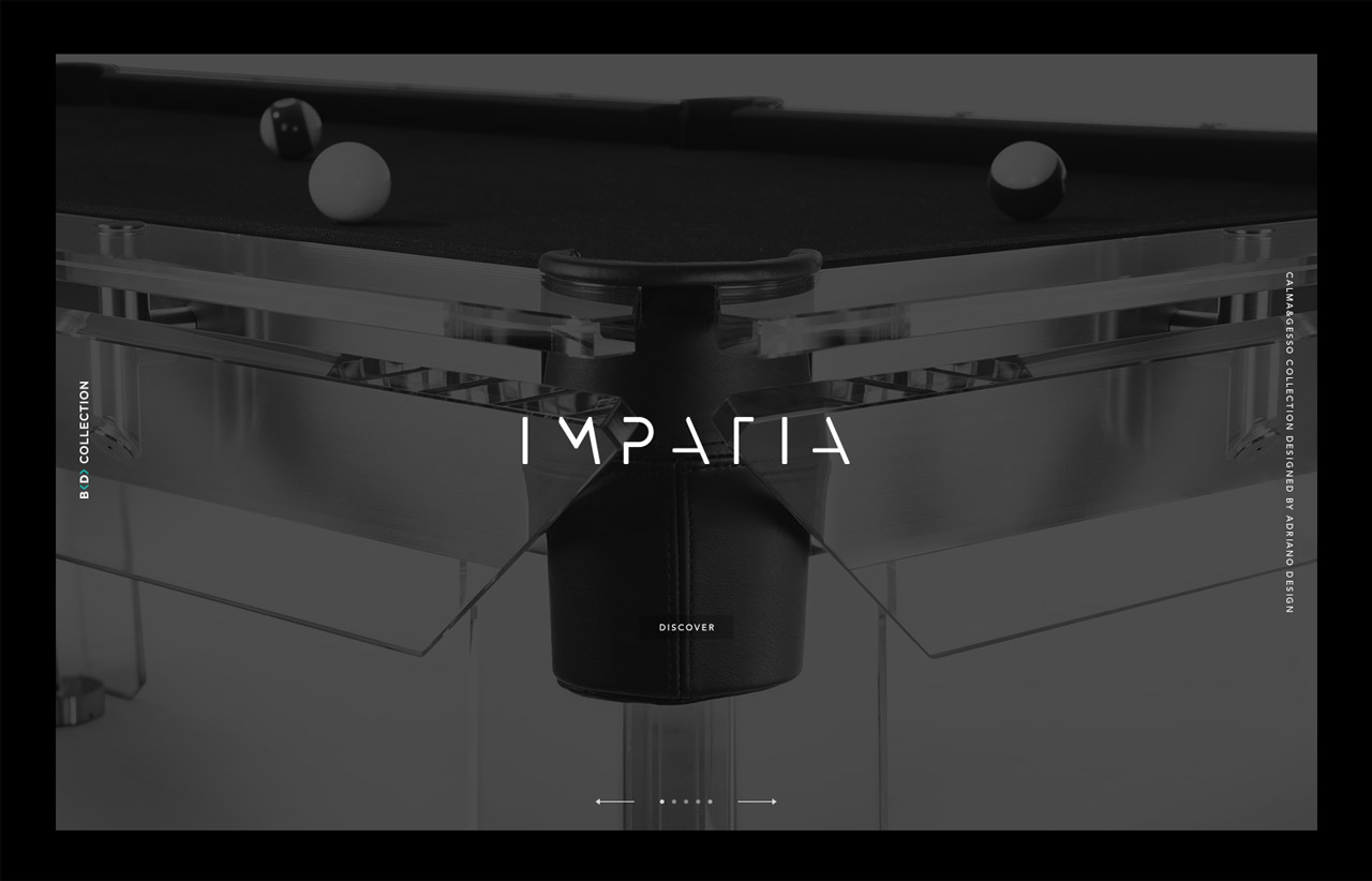 Impatia Website Screenshot