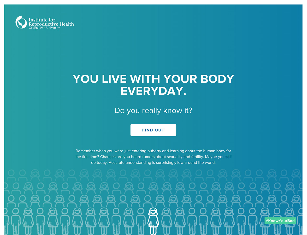 KnowYourBody Website Screenshot