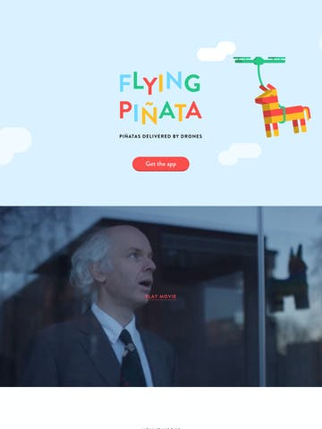 Flying Piñata Thumbnail Preview