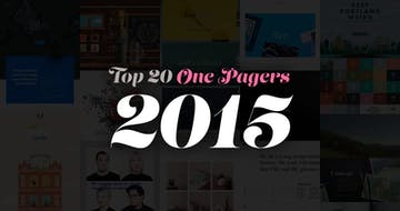 The Top 20 One Pagers from 2015.