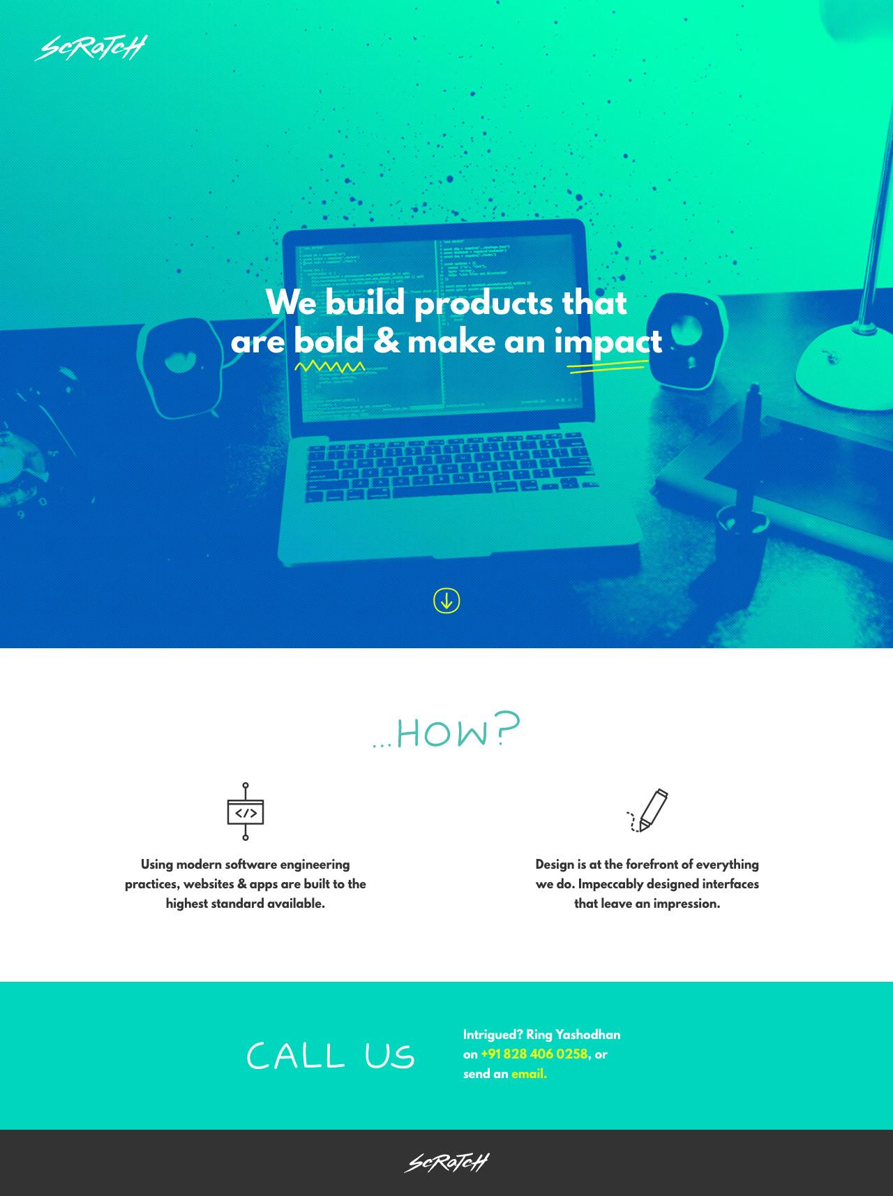Scratch Website Screenshot