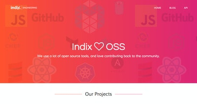 OSS at Indix Thumbnail Preview
