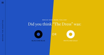 Behind The Hashtag: #TheDress Thumbnail Preview
