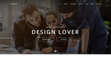 Merriweather Font One Page Websites