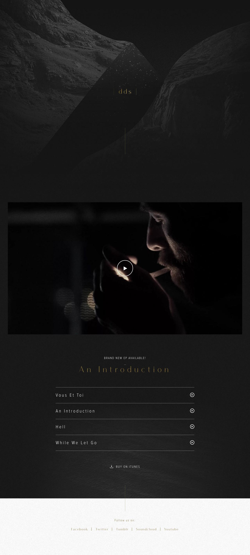 |dds| Website Screenshot