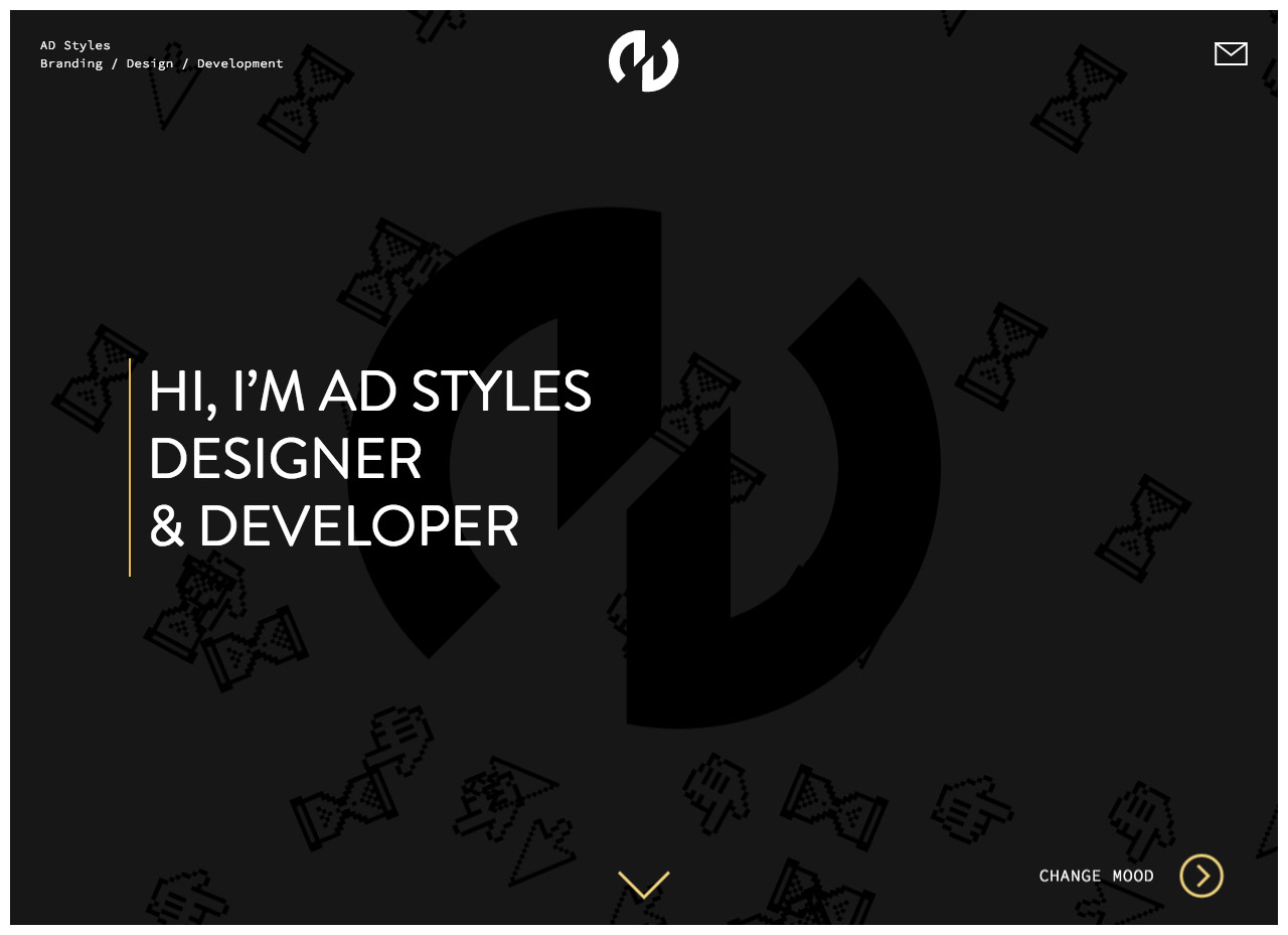 AD Styles Website Screenshot