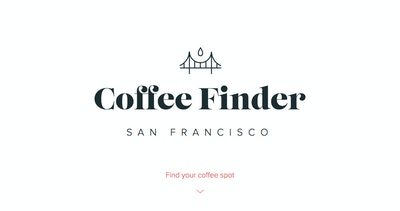 Coffee Finder SF Thumbnail Preview