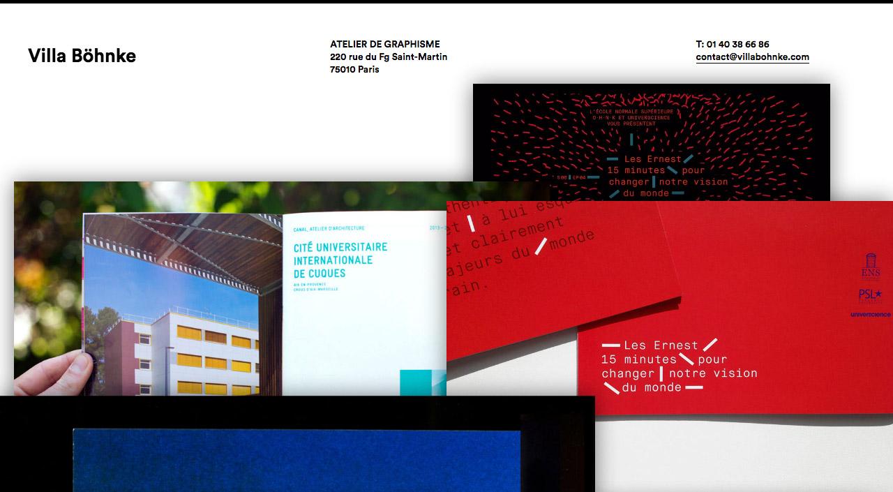 Villa Böhnke Website Screenshot