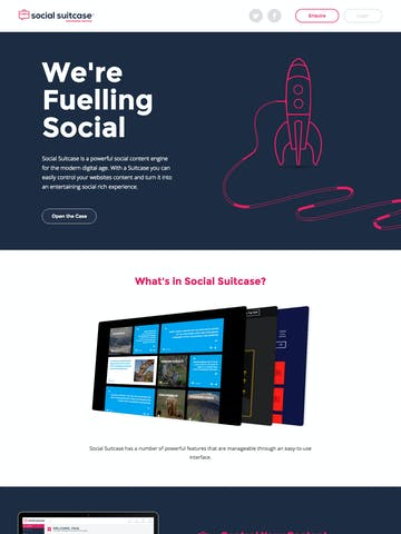 Social Suitcase Thumbnail Preview