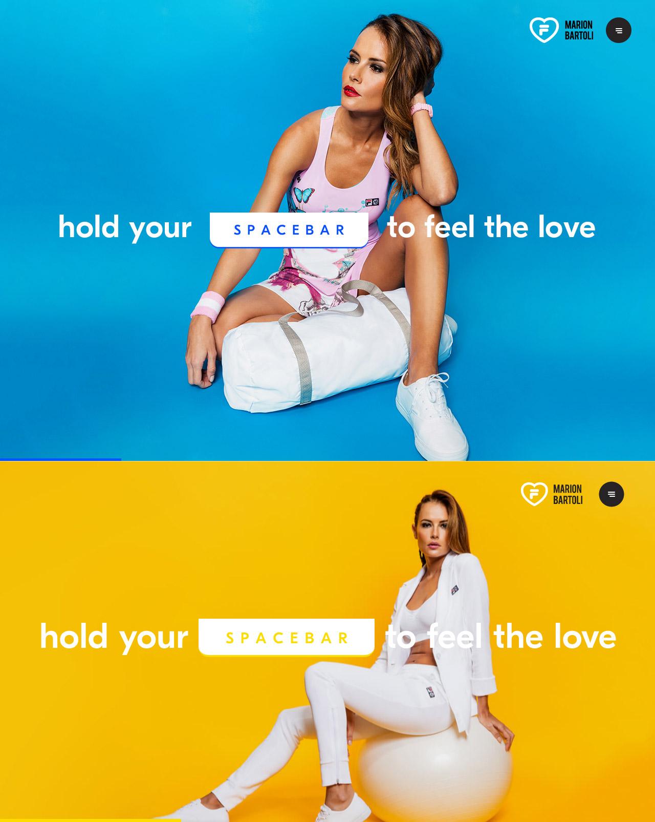 Love Fila Website Screenshot
