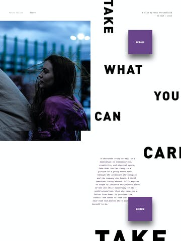 Take What You Can Carry Thumbnail Preview
