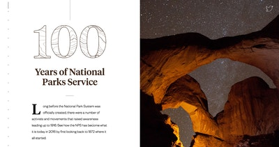 100 Years of National Parks Thumbnail Preview