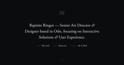 Baptiste Ringot Thumbnail Preview