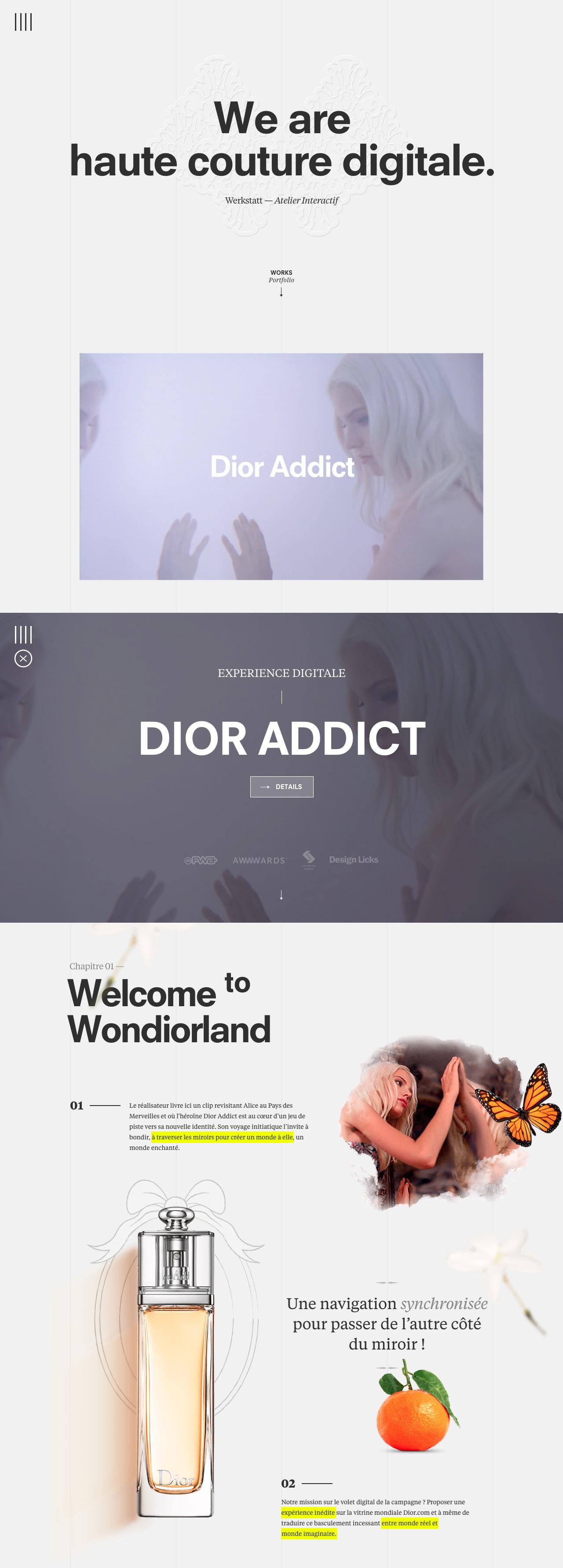 Werkstatt Website Screenshot