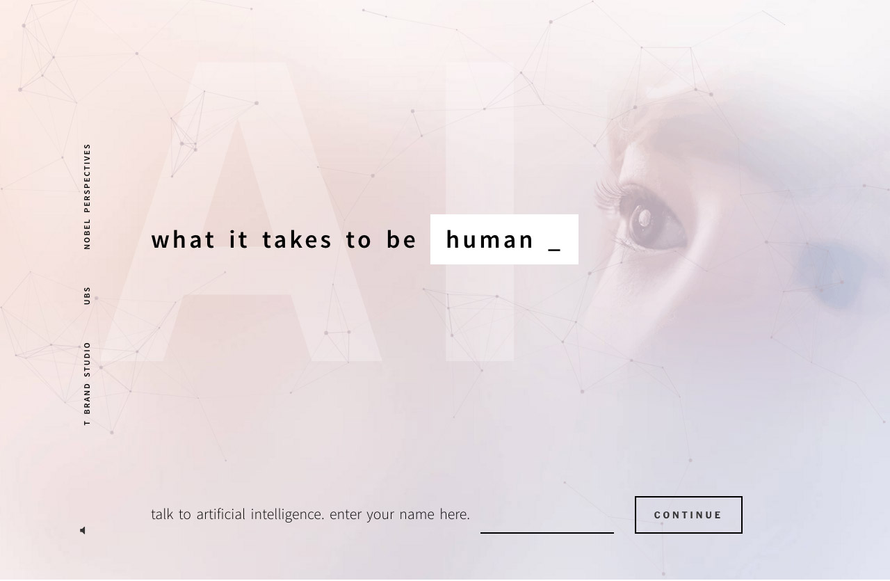 AI: What It Takes to Be Human Website Screenshot