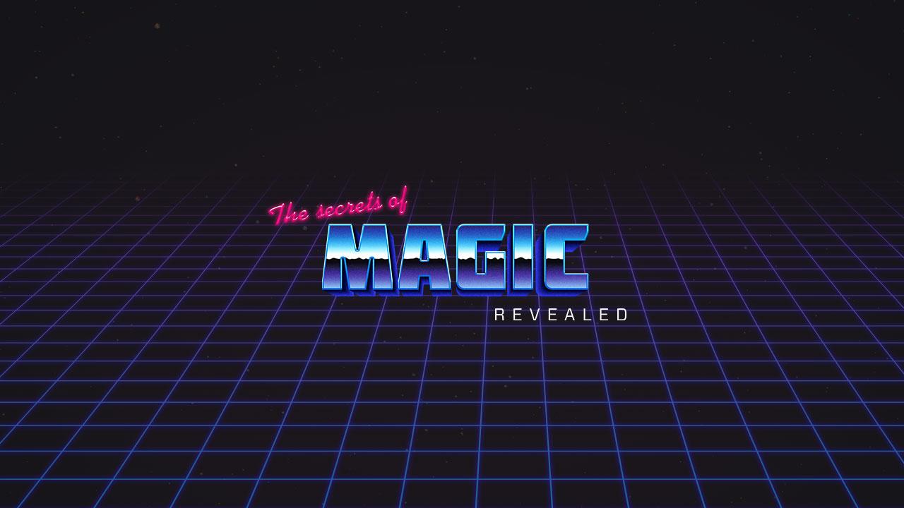 Secrets of Magic Website Screenshot