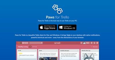 Paws for Trello Thumbnail Preview