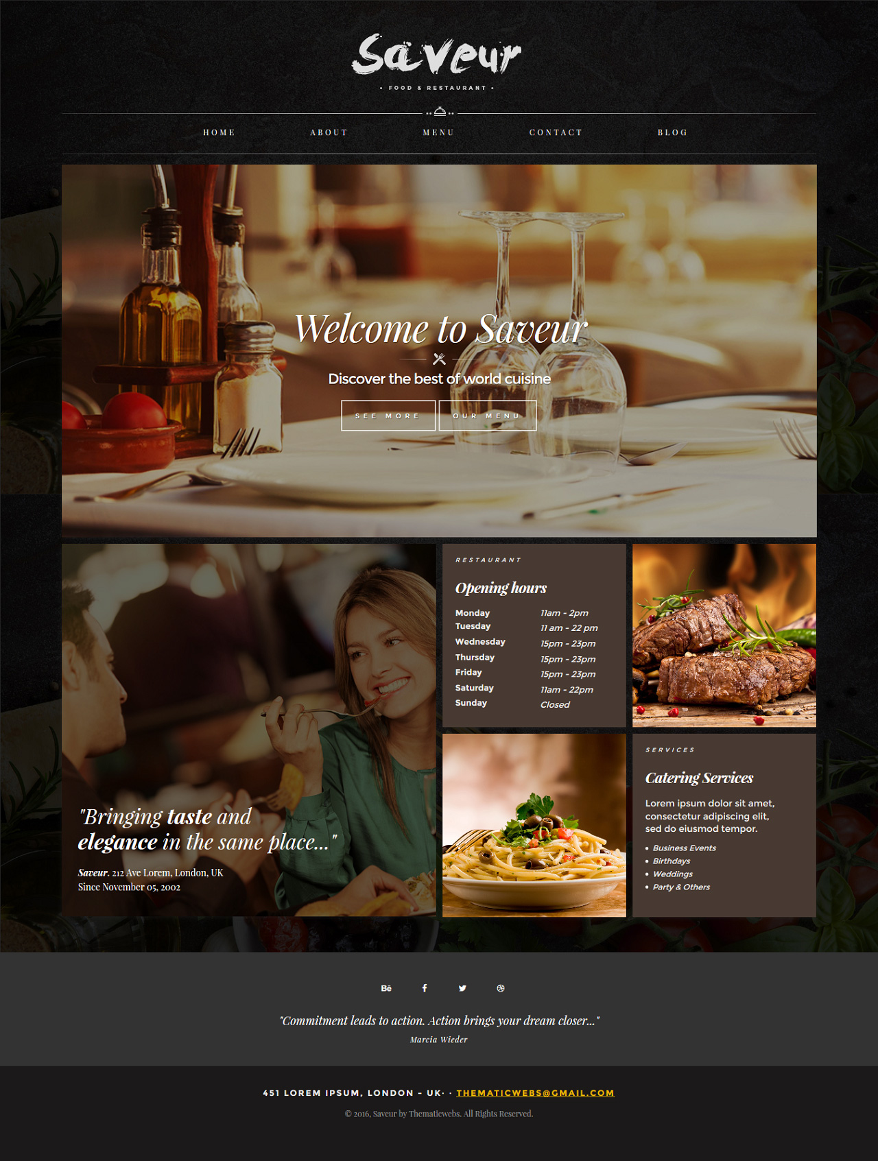 Saveur Website Screenshot