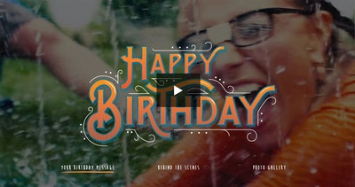 AE Birthday – Let's Party! Thumbnail Preview