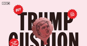 Trump Cushion Thumbnail Preview