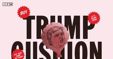Trump Cushion Thumbnail Preview