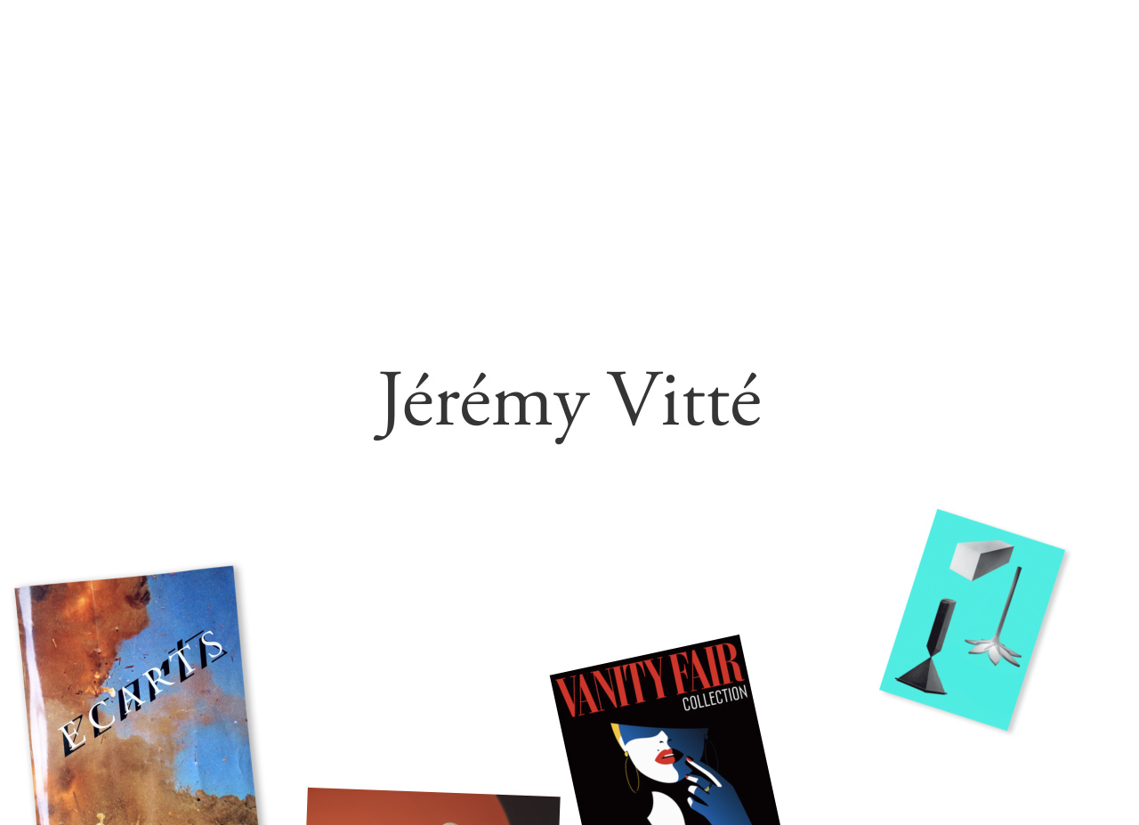 Jérémy Vitté Website Screenshot
