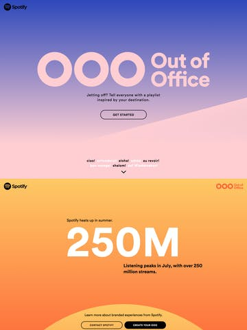 Spotify – Out of Office Thumbnail Preview