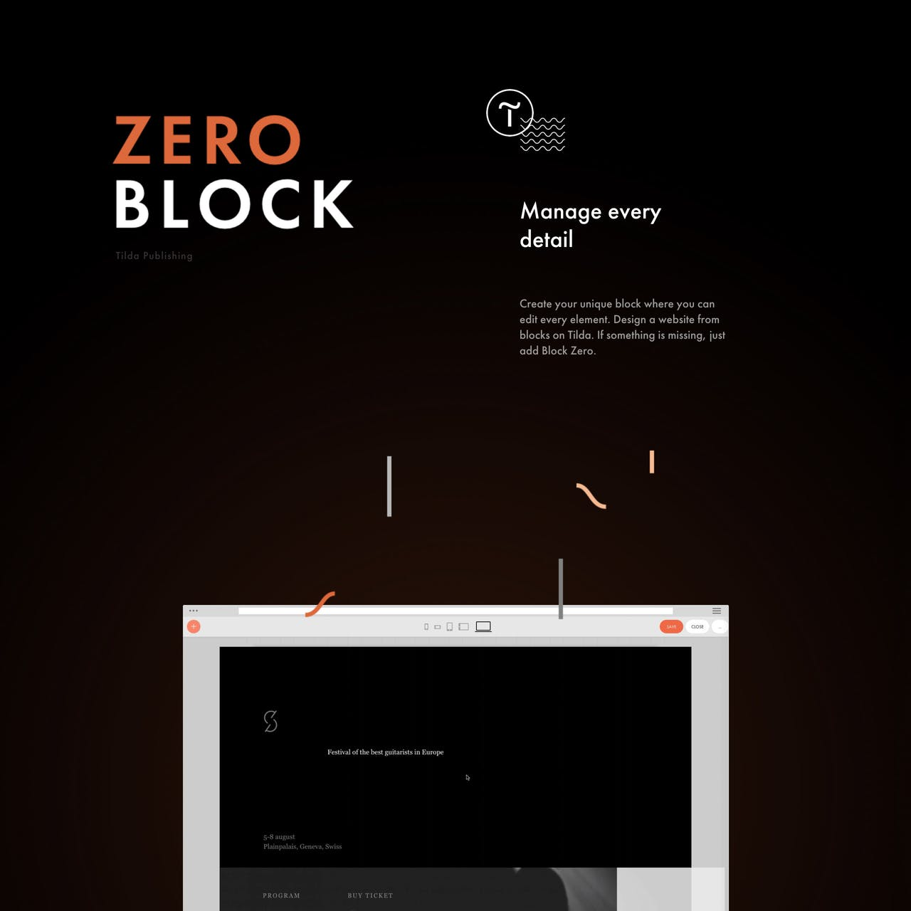 Tilda Zero Block Website Screenshot