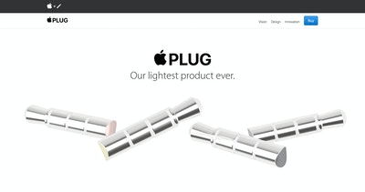 Apple Plug Thumbnail Preview