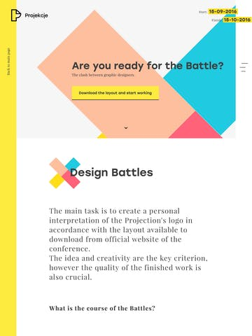 Projekcje – The Graphic Design Battles Thumbnail Preview