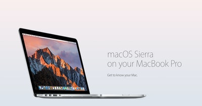 macOS Sierra on your MacBook Pro Thumbnail Preview