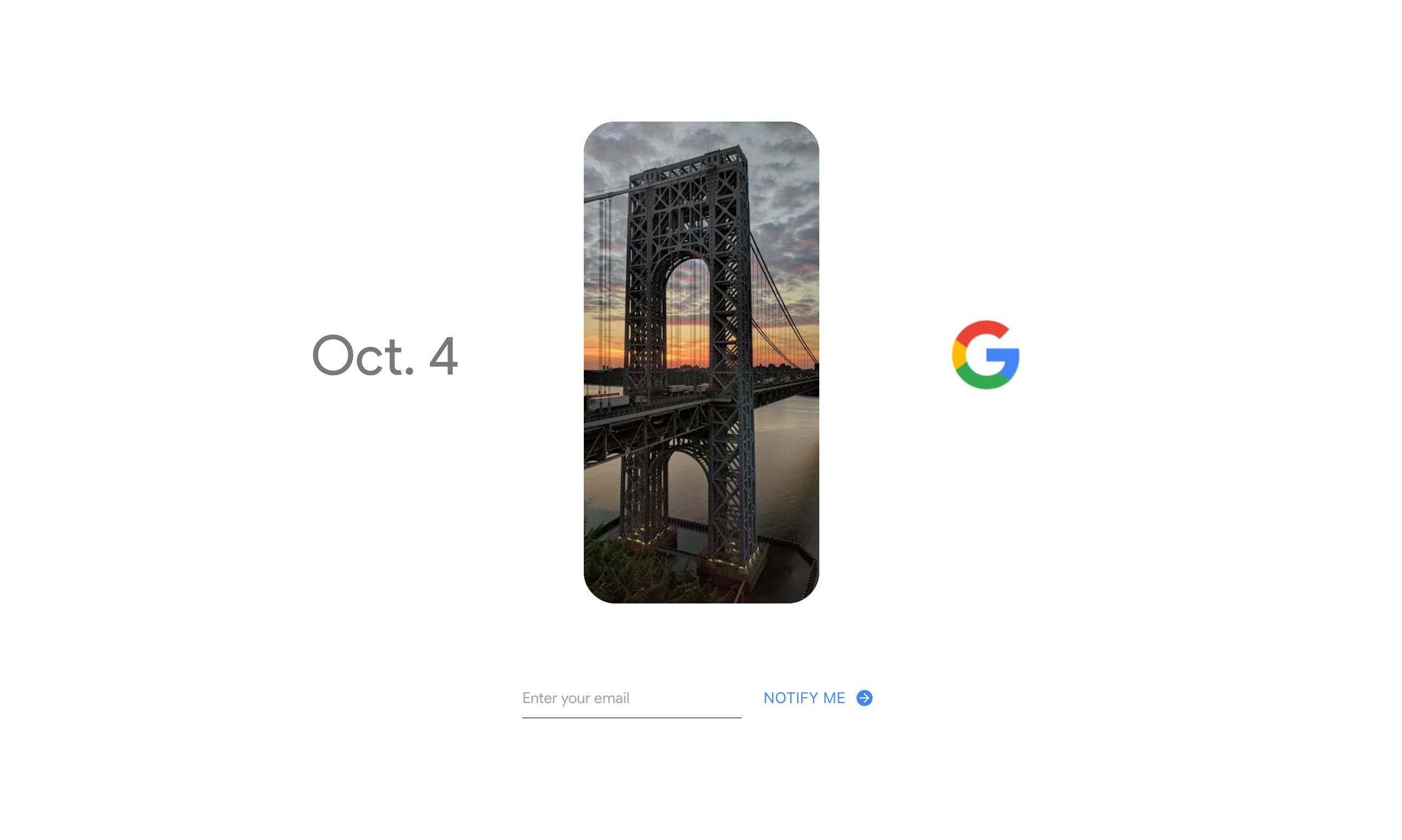 Oct. 4 – Google Website Screenshot