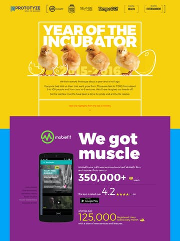 Prototyze. The Year of the Incubator. Thumbnail Preview
