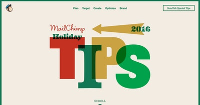 MailChimp Holiday Tips 2016 Thumbnail Preview