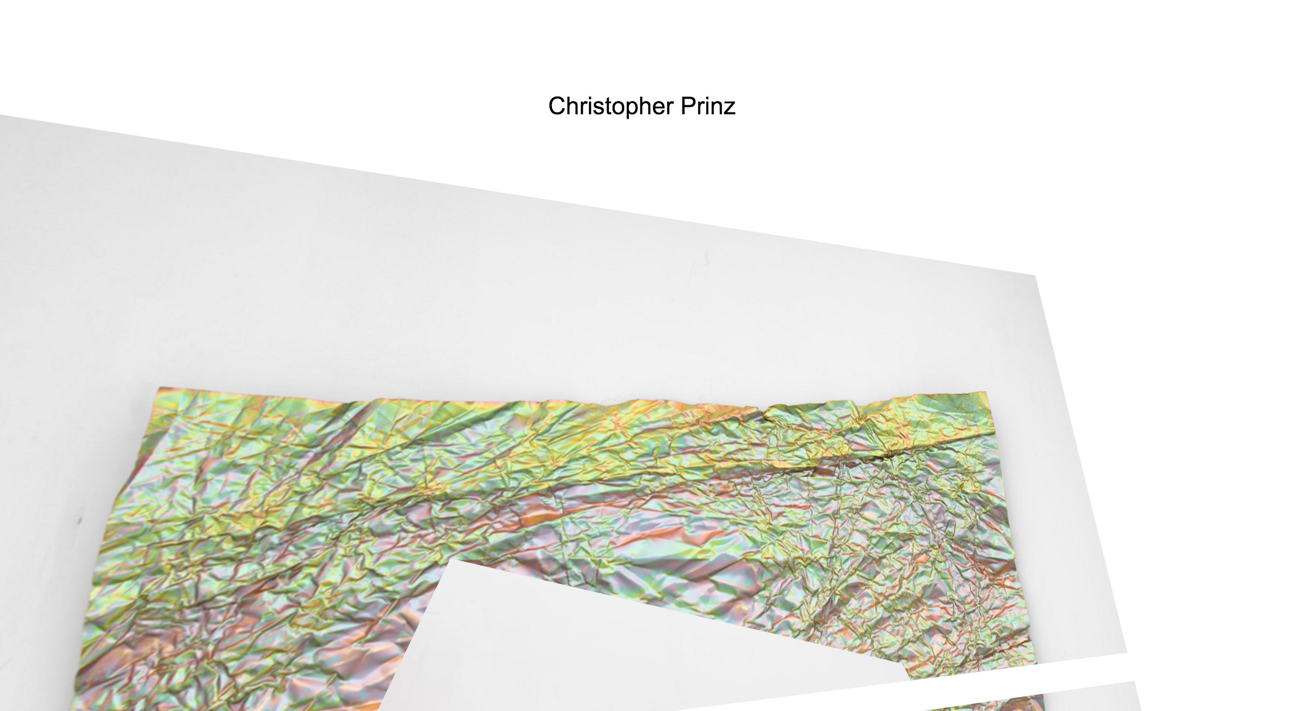 Christopher Prinz Website Screenshot
