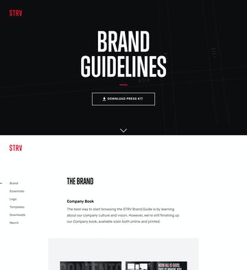 STRV Brand Guidelines Thumbnail Preview