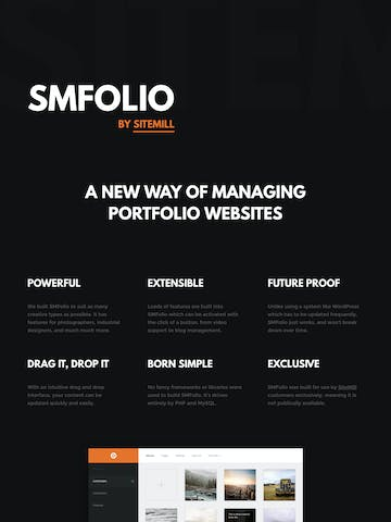 SMFolio Thumbnail Preview