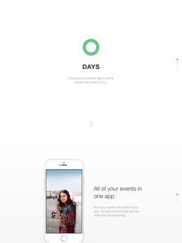 Days App Thumbnail Preview