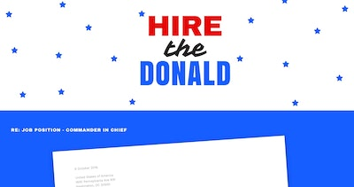 Hire the Donald Thumbnail Preview