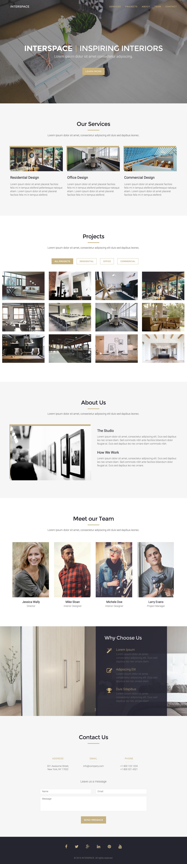Interspace Website Screenshot
