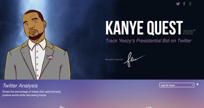 Kanye Quest 2020 Thumbnail Preview
