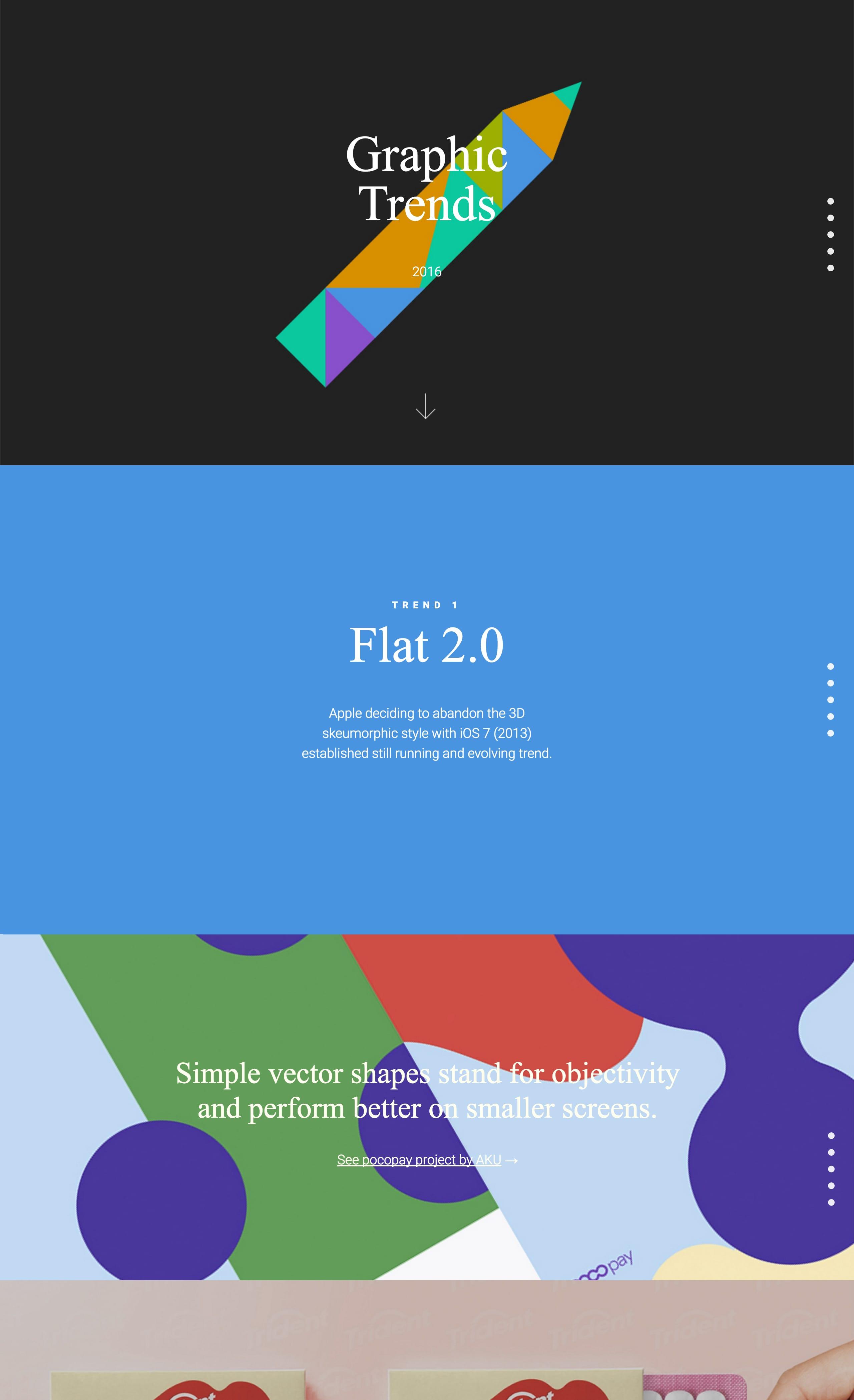 Graphic Trends 2016 Website Screenshot