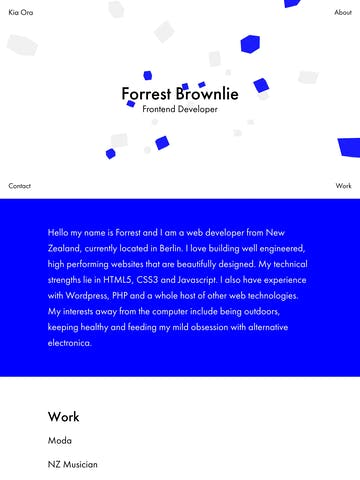 Forrest Brownlie Thumbnail Preview