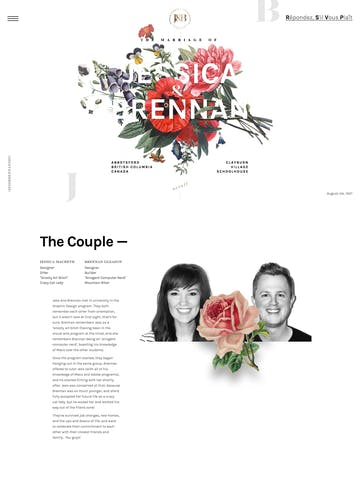 The Wedding of Jessica and Brennan Thumbnail Preview