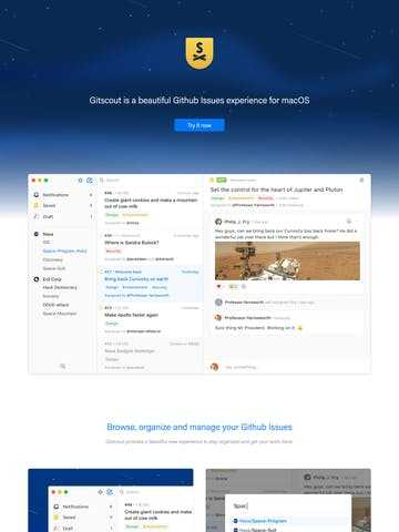 Gitscout Thumbnail Preview