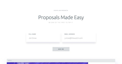 Proposals by Focus Lab Thumbnail Preview