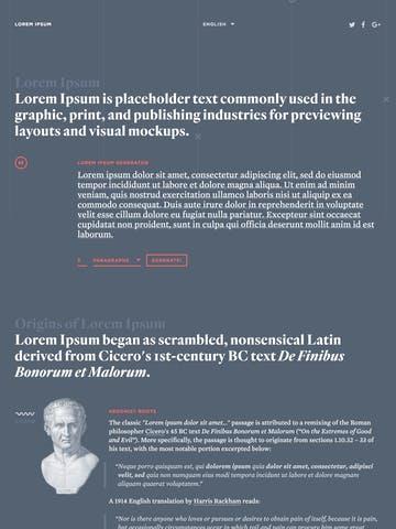 Lorem Ipsum Generator Thumbnail Preview