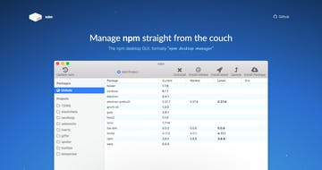 Npm Desktop Manager Thumbnail Preview